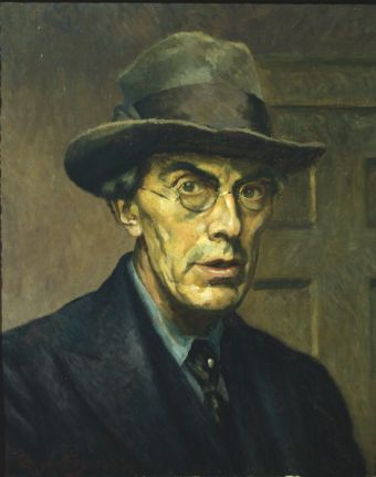 Roger Fry self-portrait