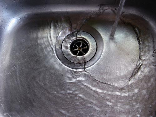 Post image for Mindfulness lives in the sink