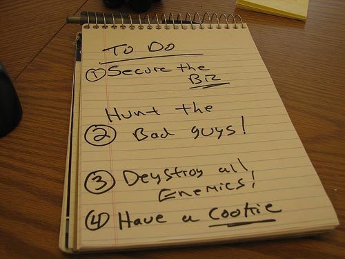 Post image for How to cross every item off your to-do list in one night