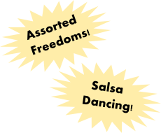 freedom salsa dancing