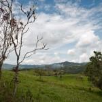 hills in ecuador