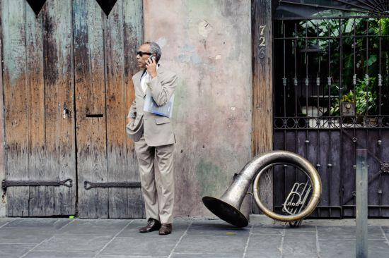 guy with french horn