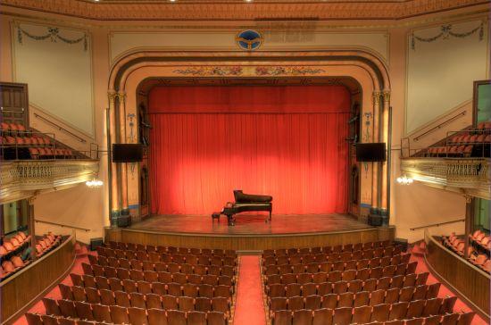 empty hall piano