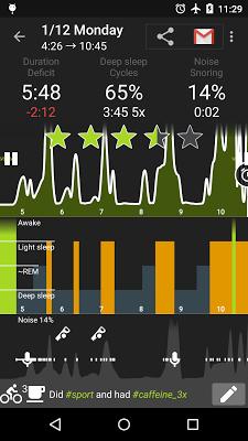 sleep app screen