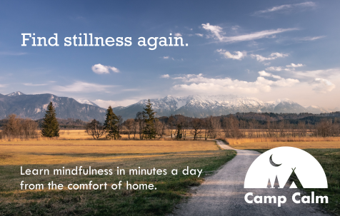 Camp Calm banner